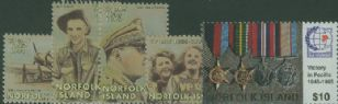 NFI SG602-6 50th Anniversary of End of Second World War in the Pacific set of 5